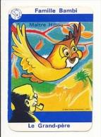 1 Carte De Jeu  / Maitre Hibou / Chouette - Owl / Grand-père Fumant La Pipe / Ref IM 39/6 - Non Classificati