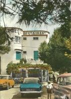 CALANQUE DES LAURONS   L'HOTEL-RESTAURANT     - LA FRANCE TOURISTIQUE   ( VOITURES ) - Francia