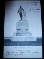 CANOSA-Storica !!! Inagurazione Monumento M.R.IMBRIANI Usata 12.05.1907 Per Epresso - Italy