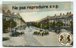 - BATH -  GREAT PULTENFY STREET - écrite En 1909, Splendide, 2 Stamps, Blason, BE, Scans.. - Bath