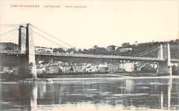 82 - Auvillar - Pont Suspendu - Auvillar