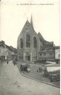 GALLARDON  ( Eure Et Loir ) -  L'EGLISE SAINT-PIERRE -  Foucault , Dreux - France