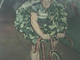 Book Article 1955 - Reg Harris Copenhagen Cycling Grand Prix 1954 - 1950-Hoy