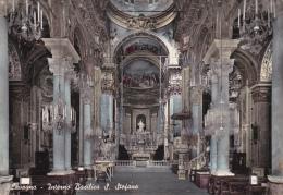 Cartolina LAVAGNA (provincia Di Genova) - Interno Basilica Di Santo Stefano - Italia