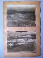 Le Front De L'Avre (Somme) : Quatre Vues Aériennes De Moreuil Les 4 Et 7 Août 1918 - 1914-18