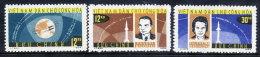 NORTH VIETNAM 1964 Vostok Space Flights Set Of 3  MNH / (*).  Sc. 291-93 - Vietnam