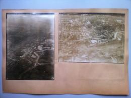 Le Front De L'Avre (Somme) : Quatre Vues Aériennes De Moreuil Et De Castel Le 26 Juin Et Le 4 Août 1918 - 1914-18