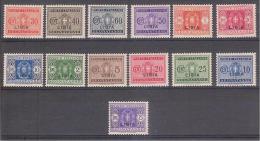 * 1934 LIBIA SEGNATASSE  MH LINGUELLATI (SASS. 12/24 ) CAT. € 280,00 - Libye