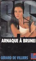 Arnaque à Brunei Gérard De Villiers - SAS