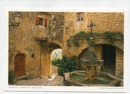 FRANCE - AK 186110 Vaucluse - Innenhof In Crestet - Sonstige Gemeinden