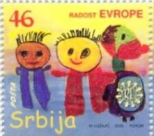SRB 2009-323 CHILDREN WEEK, SERBIA, 1 X 1v + Label, MNH - Kind & Jugend