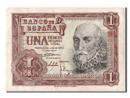 [#302466] Espagne, 1 Peseta Type Marques De Santa Cruz - [ 3] 1936-1975 : Régence De Franco