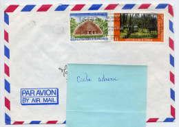 Nlle CALEDONIE--1988--Lettre De Nouméa Pour La France(Nantes-44)-Composition De Timbres  Sur Enveloppe------------------ - Briefe U. Dokumente
