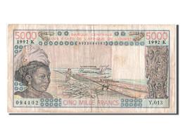 Sénégal, 5000 Francs Type Banque Centrale Des Etats De L'Afrique De L'Ouest - Sénégal
