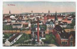 General View - St. Pölten - Austria - Österreich - Old Postcard - Sent To Estonia 1920 - Used - St. Pölten
