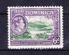 DOMINICA   1938 , Def´s Set  King G VI    6 D   , Y&T  #   99   Cv   1.50  E , * MH , VF - Dominica (...-1978)