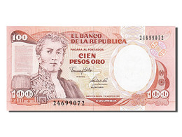 [#254051] Colombie, 100 Pesos Oro, Type Narino - Colombie