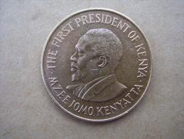 KENYA 1978 TEN CENTS   KENYATTA Nickel-Brass  USED COIN In GOOD CONDITION. - Kenya