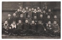 Foto AK WITTEN - Breddeschule, Klassenfoto, Knaben, Schüler Mit Rektor Lehrer Karl Schlösser  1910er Jahre - Witten
