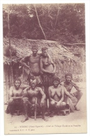 N'DORO (Haut Ogooué, Gabon) - Chef De Village Chaké Et Sa Famille - Gabon