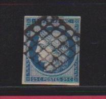 CERES    //   25 Centimes Bleu   //  N 4  // Côte 45 € - 1849-1850 Ceres