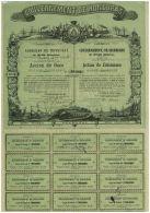 Gouvernement De Honduras, Chemin De Fer De Porto-Cortes à La Baie De Fonseca, Tres Déco Par Soury - Chemin De Fer & Tramway