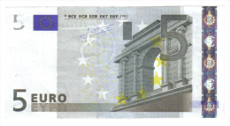 5 € T IRLANDA K003 TRICHET CIRCULATED  COD.€.139 - EURO
