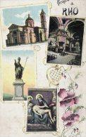 [DC6988] RHO (MILANO) - RICORDO DI RHO - Old Postcard - Rho