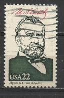 USA 1986 - PRESIDENT GRANT - USED OBLITERE GESTEMPELT USADO - Gebraucht