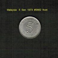 MALAYSIA    5  SEN  1973  (KM # 2) - Malaysia