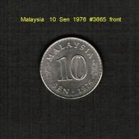 MALAYSIA    10  SEN  1976  (KM # 3) - Malaysie