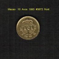 MACAU    10  AVOS  1993  (KM # 70) - Macau
