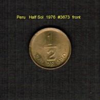 PERU    1/2  SOL  1976  (KM # 265) - Peru