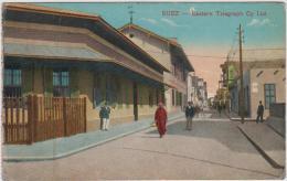 AK - Suez - Strassenansicht 1920 - Sues