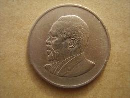 KENYA 1967  ONE SHILLING  KENYATTA Copper-Nickel  USED COIN In GOOD CONDITION. - Kenya