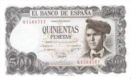 BILLETE DE ESPAÑA DE 500 PTAS DEL 23/07/1971 SERIE 1Q  SIN CIRCULAR-PLANCHA - [ 3] 1936-1975 : Régimen De Franco