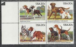 USA 1984 - DOGS - CPL. SET - MNH MINT NEUF NUEVO - Chiens
