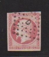 NAPOLEON III //  80 Centimes Rose //  N 17 //  Côte 55 € - 1853-1860 Napoleon III