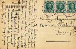1336  Postal Brugges 1923 Belgica - Bélgica