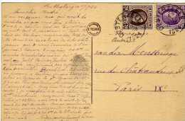 1337  Postal Oosterzeele 1924 Belgica - Bélgica