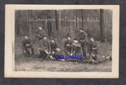 CPA Photo - BITCHE - Les Savoyards De La Classe 20 - Chasseurs Alpins - Voir Arme - Militaria