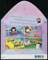 THAÏLANDE 2013 - Semaine De La Lettre écrite, Dessins D'enfants - BF Neufs // Mnh - Thailand