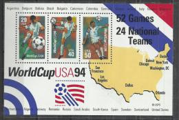 USA 1994 - FOOTBALL WORLD CUP - SOUVENIR SHEET - MNH MINT NEUF NUEVO - Coppa Del Mondo