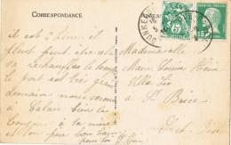 6918. Postal DUNKERKE Gare (Calais) 1926. Vista Malo Les Bains - Frankreich