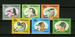 Zimbabwe 1988,6V.uccelli,birds,vogels,vögel,oiseaux,pajaros,MNH/Postfr,E3825it) - Oiseaux