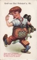 RHÖNDORF BAD HONNEF (Allemagne) Carte à Système-Leporello-Gruss Aus ...Enfant Casquette En Ballade-avec Tirette 10 Vues - Bad Honnef