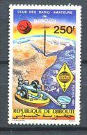 123 DJIBOUTI 1981 - Radio Amateur (Yvert 534) Neuf  ** (MNH) Sans Trace De Charniere - Dschibuti (1977-...)