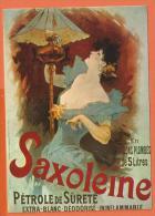 HC770,Repro, Saxoléine, Pétrole De Sûreté, Lampe à Pétrole ,Editions F. Nugeron, Grand Format, Non  Circulée - Advertising
