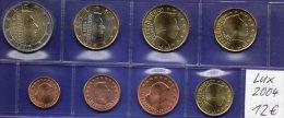 EURO-Satz Luxemburg 2004 Prägeanstalt Des Herzogtum Stg 25€ Stempelglanz Staatlichen Münze Letzeburg Set Coin Luxembourg - Lussemburgo