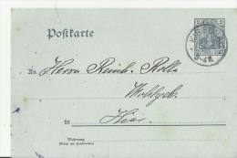 = GS DR 1903 KIRSCHAU - Stamped Stationery